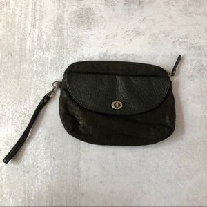 Urban Outfitters Cooperative | Black Linen Clutch